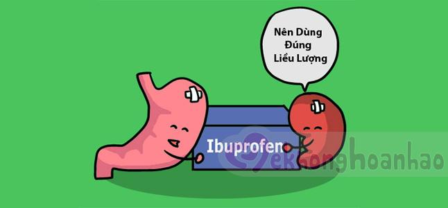 Sử dụng thuốc hạ sốt Ibuprofen cho bé như thế nào?