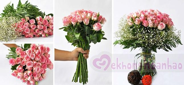 Cách cắm hoa hồng đơn giản đẹp dịu dàng, nữ tính