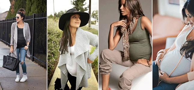 8 loại trang phục dễ dàng theo bạn trước, trong và sau thai kỳ