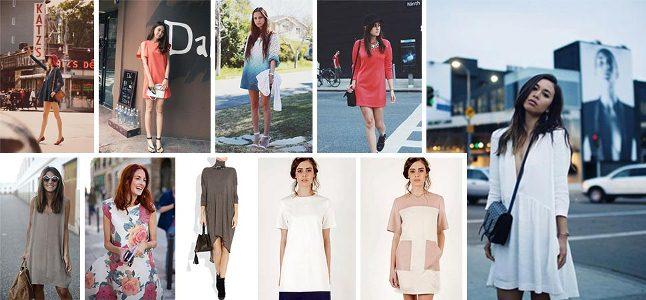 Đầm suông công sở – Hợp thời và tiện dụng