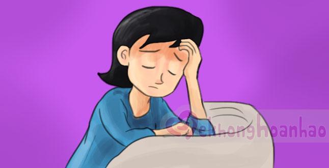 Bắt mạch dấu hiệu có thai sớm nhất: Mệt lã người và đau đầu!