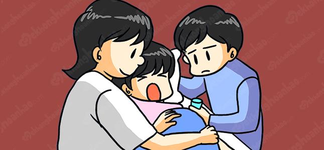 Cơn đau chuyển dạ và những điều mẹ mang thai tháng thứ 7 cần biết