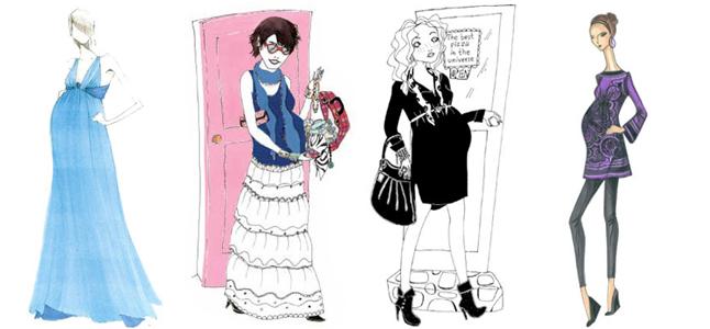 6 bí quyết mặc đẹp với thời trang bầu bí