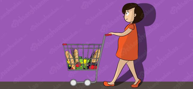 Trữ thực phẩm – Một trong những thứ cần chuẩn bị trước khi sinh