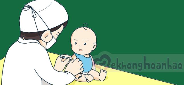 Lịch tiêm chủng cho trẻ em theo tiêm chủng dịch vụ 2016
