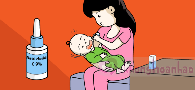 Cách rửa mũi khi bé bị sổ mũi chuẩn không cần chỉnh!