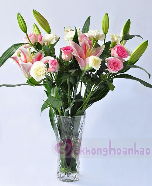 Mãn nhãn với bộ sưu tập cách cắm hoa hồng đẹp tinh tế hình 19