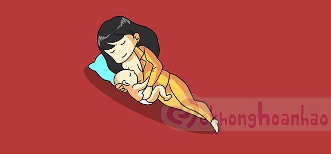 Kinh nghiệm cho con bú đúng cách của gái đoảng lần đầu làm mẹ