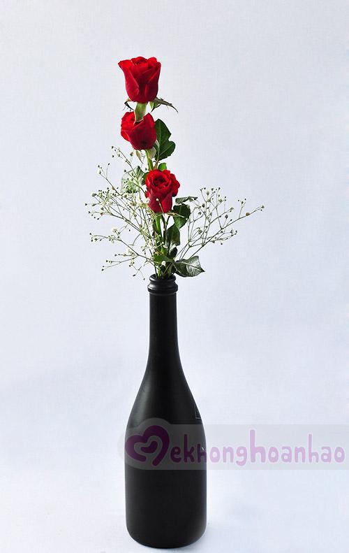 Mãn nhãn với bộ sưu tập cách cắm hoa hồng đẹp tinh tế hình 31