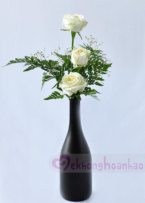 Mãn nhãn với bộ sưu tập cách cắm hoa hồng đẹp tinh tế hình 32
