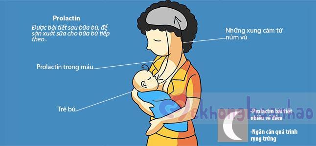 Tìm hiểu về cơ chế tiết sữa mẹ khi cho con bú