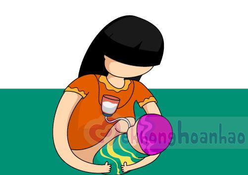 Bộ câu sữa mẹ - Thiết bị hỗ trợ mẹ cho bé bú hiệu quả - hình ảnh 2
