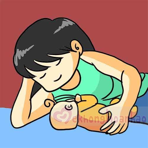 Tư thế cho con bú đúng cách mẹ bỉm sữa nhất định phải biết