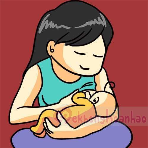 Tư thế cho con bú đúng cách mẹ bỉm sữa nhất định phải biết - hình ảnh 2