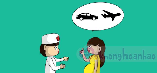 Đi du lịch khi mang thai tháng thứ 8 có nên?