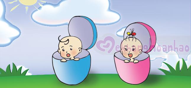 Tiết lộ các dấu hiệu mang thai bé trai và bé gái cực chuẩn