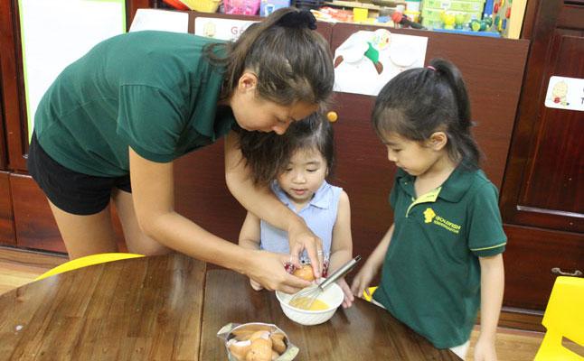 Phát triển kỹ năng sống cho trẻ em mầm non