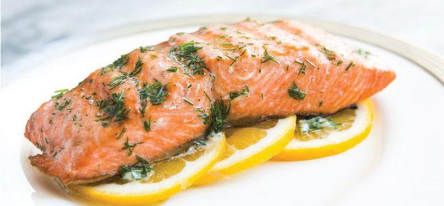 Thực đơn phi lê cá hồi nướng giúp tăng cường sức khỏe não bộ