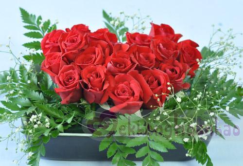 Bật mí cách cắm hoa hồng hình trái tim lãng mạn hình ảnh 4