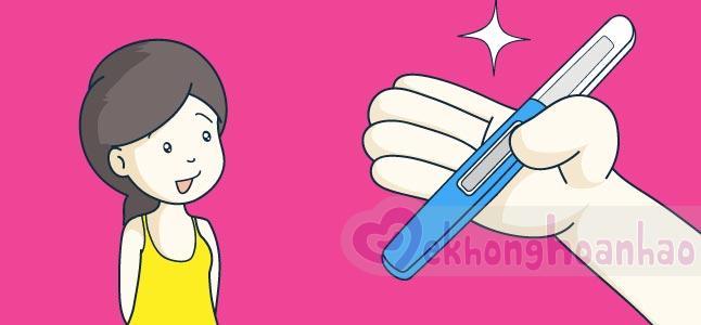 Top 3 thắc mắc về que thử thai chị em nên biết
