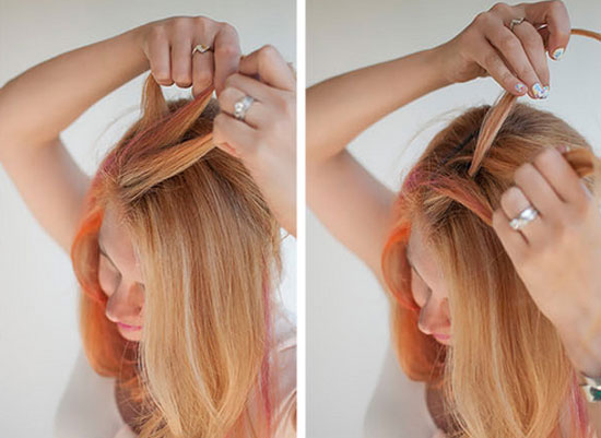 3 cách làm tóc đẹp cho ngày Valentine ngọt ngào hình ảnh 2