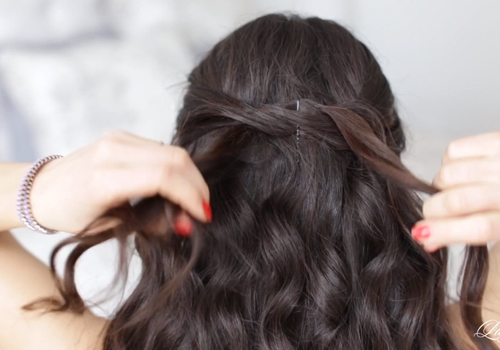 3 cách làm tóc đẹp cho ngày Valentine ngọt ngào hình ảnh 8