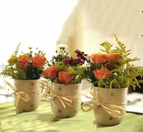 Mãn nhãn với bộ sưu tập cách cắm hoa hồng đẹp tinh tế hình 36