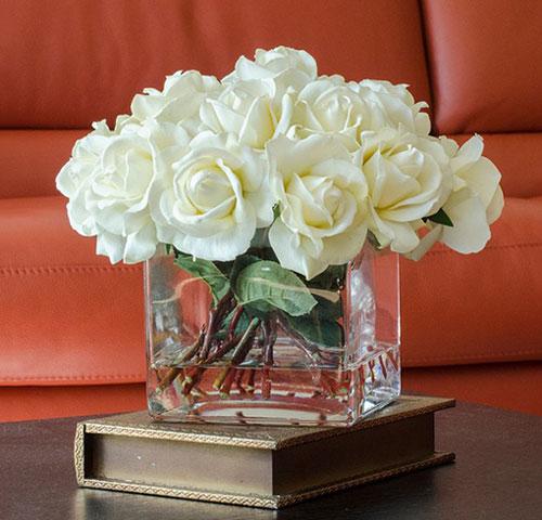 Mãn nhãn với bộ sưu tập cách cắm hoa hồng đẹp tinh tế hình 37