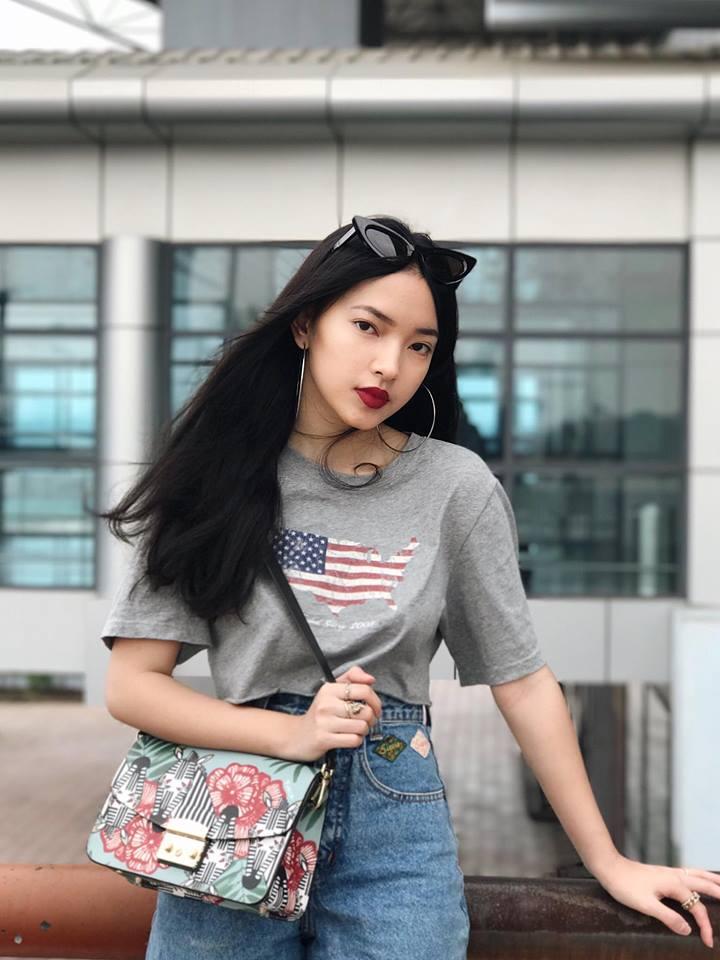 Muôn kiểu khuyên tai đẹp cá tính của cô nàng fashionista Châu Bùi hình ảnh 1