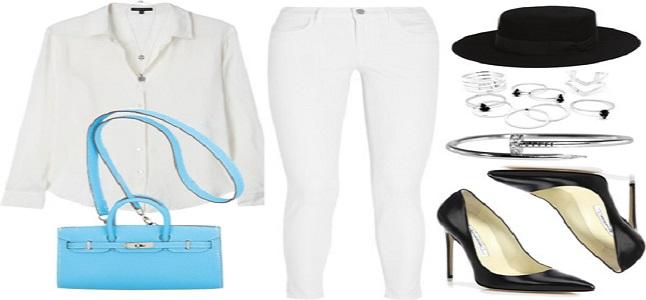 Gợi cảm, thanh lịch và sành điệu với chiếc áo sơ mi trắng