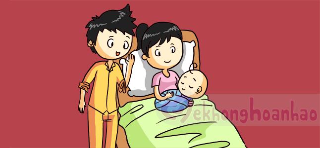 Xổ nhau thai – Một phần của quá trình sinh con