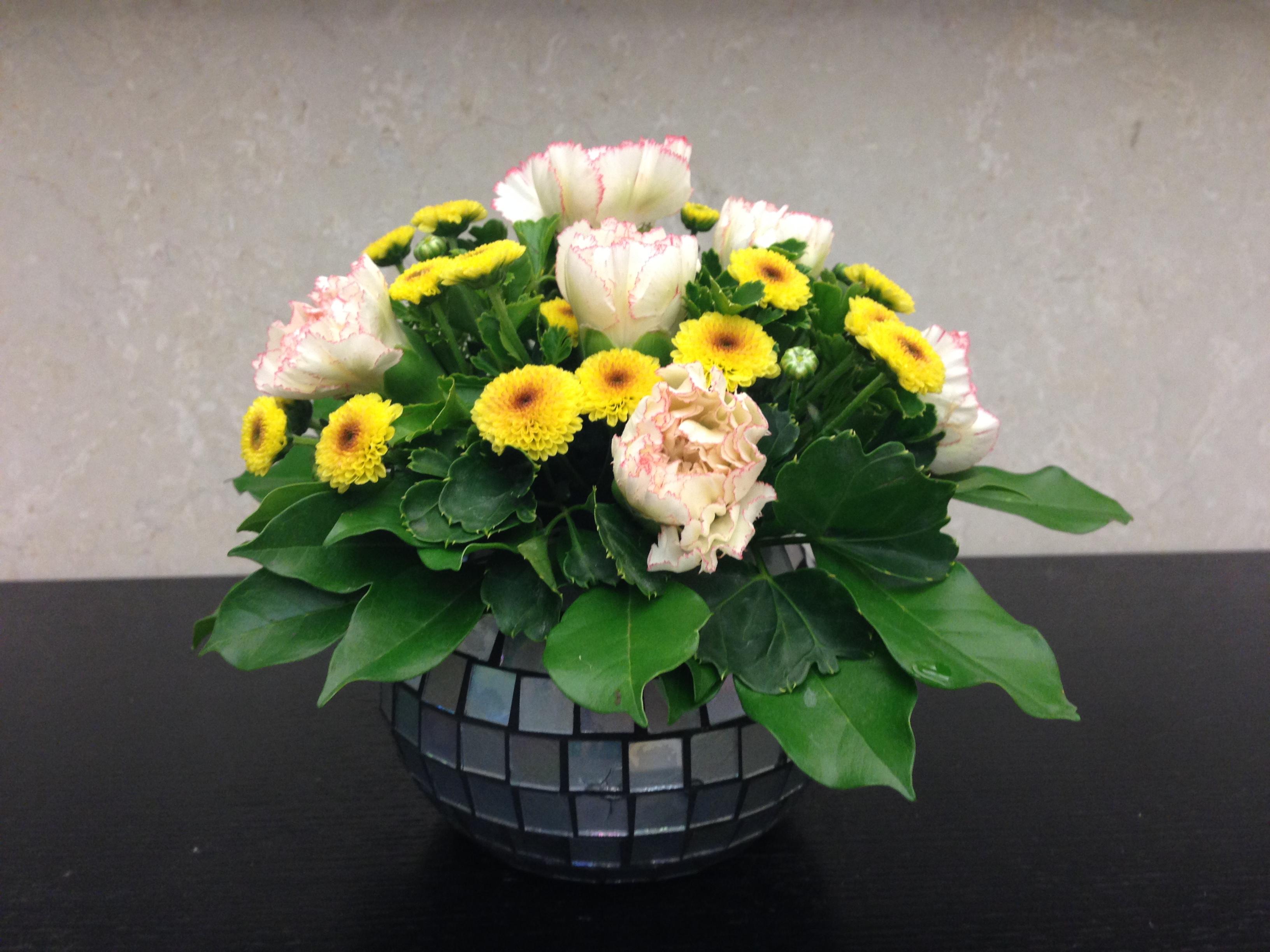 Hướng dẫn cách cắm hoa cúc đẹp nhỏ nhắn xinh xắn hình 10