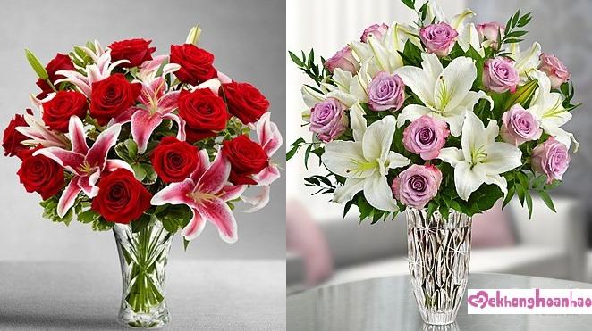Mãn nhãn với bộ sưu tập cách cắm hoa hồng đẹp tinh tế hình 26