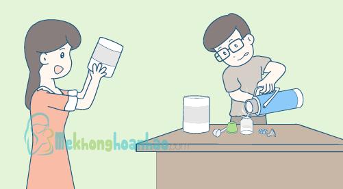 Lượng sữa công thức cho trẻ sơ sinh và trẻ nhỏ dưới 1 tuổi hình 2