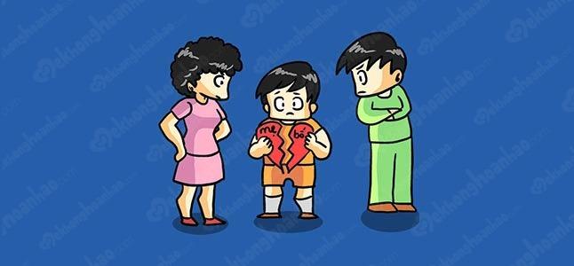 Khi cha hoặc mẹ không giữ quyền nuôi con sau ly hôn