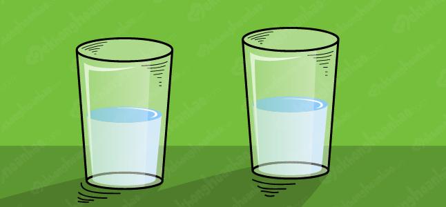 Học cách kiềm chế cơn giận qua câu chuyện hai cốc nước