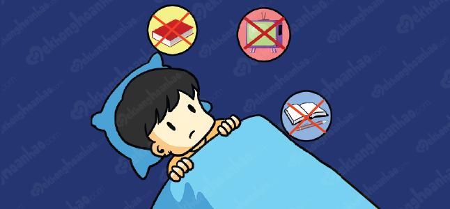 Các cách chữa mất ngủ cho trẻ em