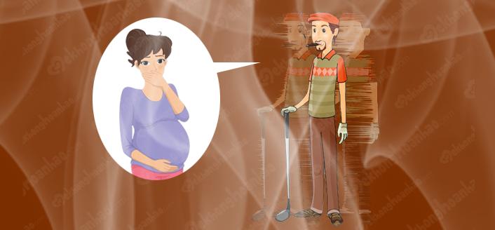 Tác hại của hút thuốc lá thụ động đến thai kỳ