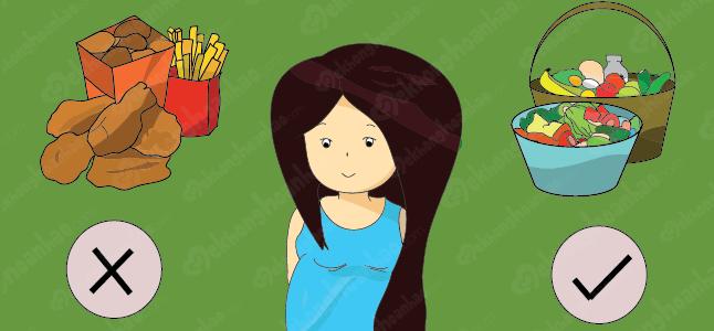 Chế độ dinh dưỡng cho bà bầu trong 9 tháng thai kỳ