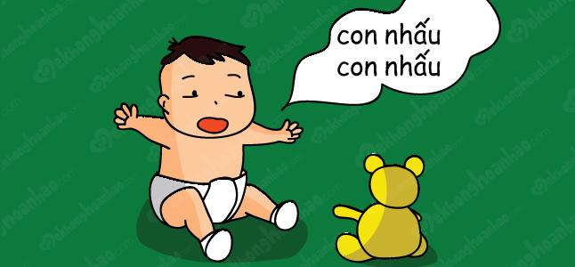 Nguyên nhân và triệu chứng trẻ nói ngọng