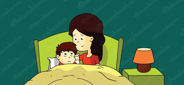 Khi con có những cơn ác mộng, cha mẹ nên làm gì?
