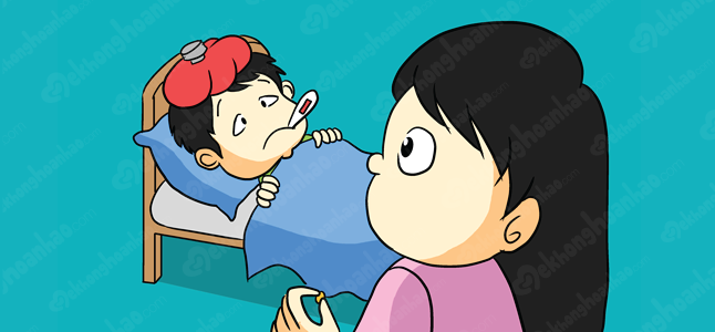 Dấu hiệu nhận biết trẻ bị sưng hạch bạch huyết