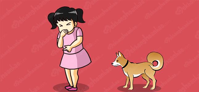 Nguyên nhân khiến bé bị dị ứng vật nuôi