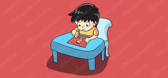 Các mốc phát triển của trẻ từ 4 đến 5 tuổi – Kỹ năng cầm nắm