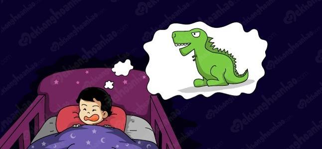 Rối loạn giấc ngủ ở trẻ – Phân biệt chứng hoảng loạn ban đêm và ác mộng