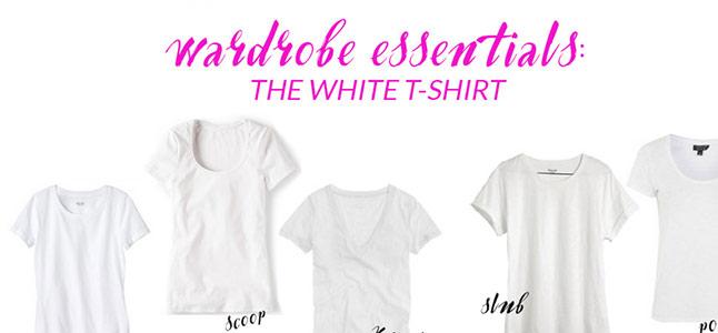 6 biến tấu với áo thun trắng cơ bản