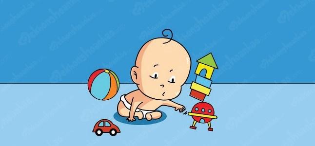 Sự phát triển của trẻ 8 -12 tháng về phương diện vận động