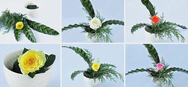 Bí quyết để có một lọ hoa hồng thật xinh xắn