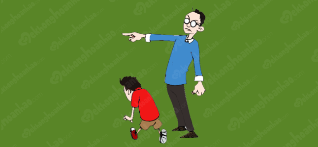Phạt con đúng cách, học bở hơi tai