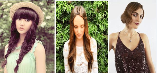Các kiểu tóc đẹp đơn giản đón Xuân và Valentine cho bạn gái